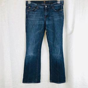 7FAM Flare Leg Jeans 30